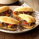 Chicago-Style Beef Rolls