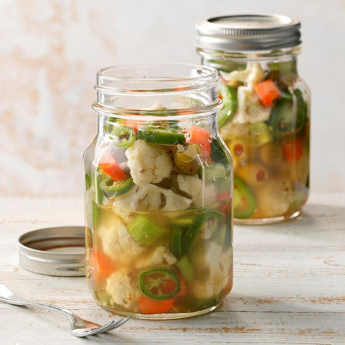 Chicago-Style Hot Giardiniera