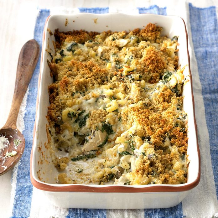 October: Chicken Florentine Casserole