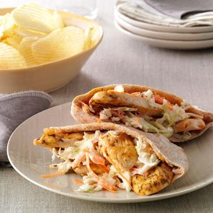 Chicken Pita Pockets