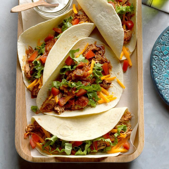 Inspired By: Chicken Soft Taco