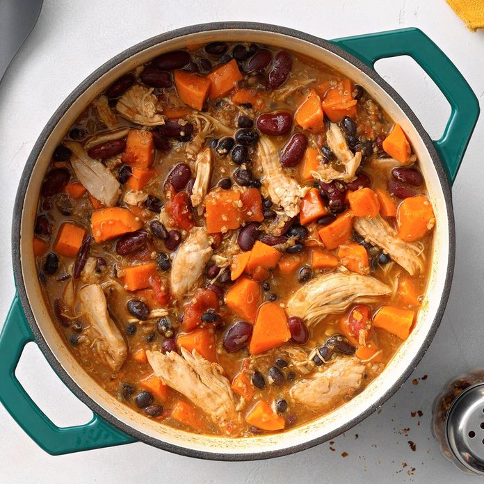Chicken and Sweet Potato Chili