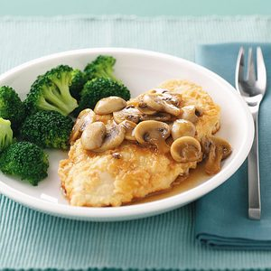 Chicken with Wine Sauce