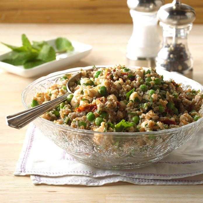 July 30: Chickpea Mint Tabbouleh