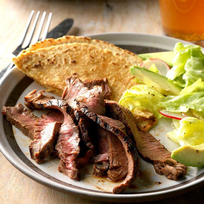 Chocolate-Chipotle Sirloin Steak