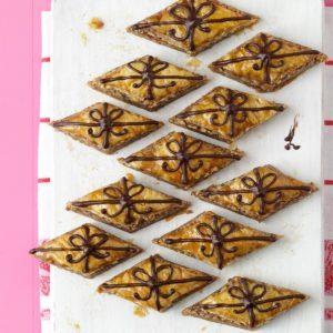 Chocolate-Drizzled Baklava