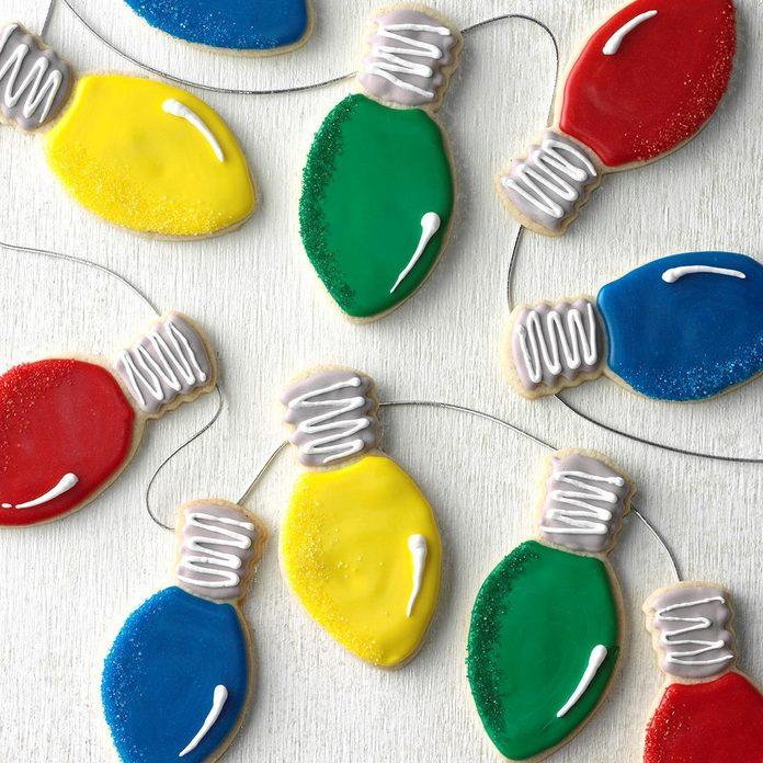 Christmas Lights Cookies