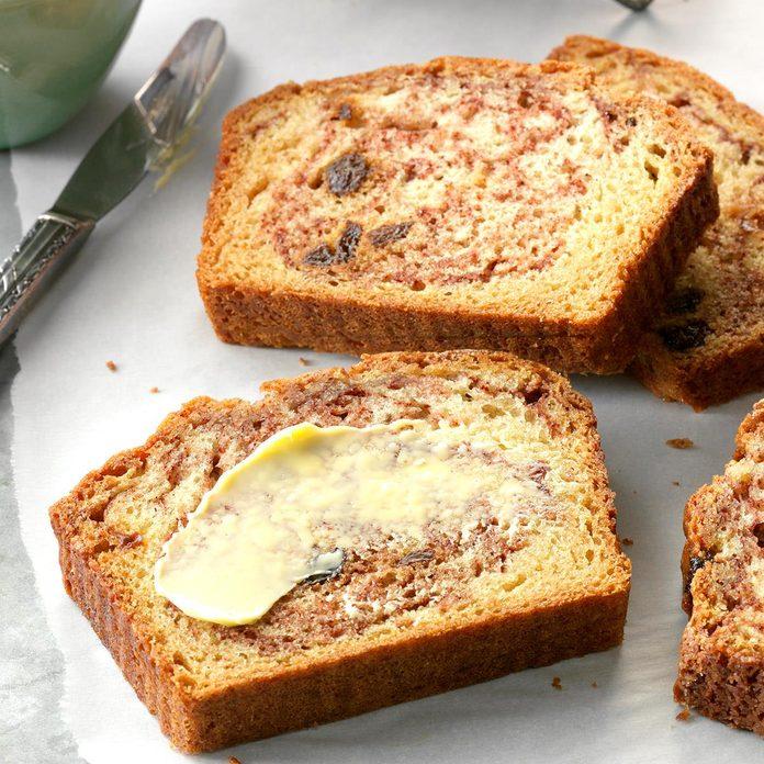 Oklahoma: Cinnamon Raisin Quick Bread