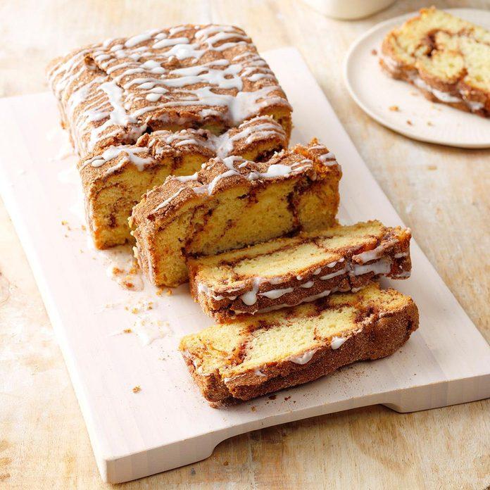 Michigan: Cinnamon Swirl Quick Bread