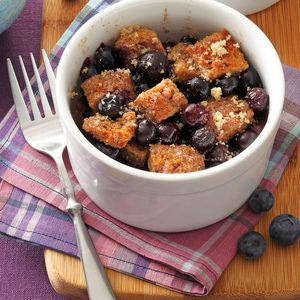 Cinnamon-Toast Blueberry Bakes