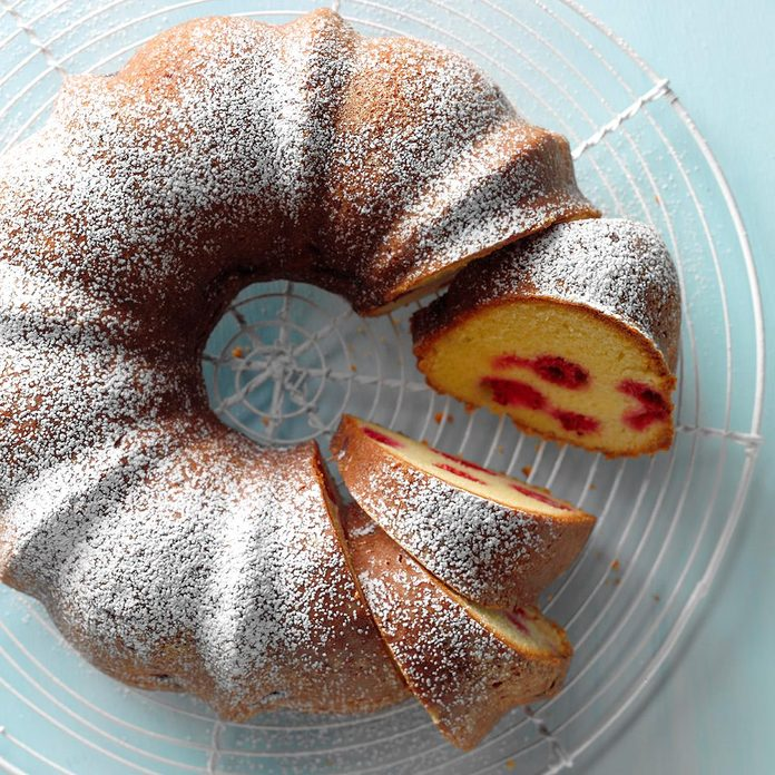 Citrus-Raspberry Coffee Cake