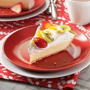 Citrus Sour Cream Pie