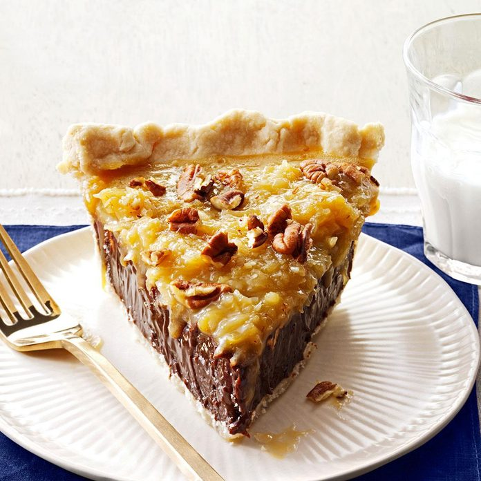 Coconut-Pecan German Chocolate Pie
