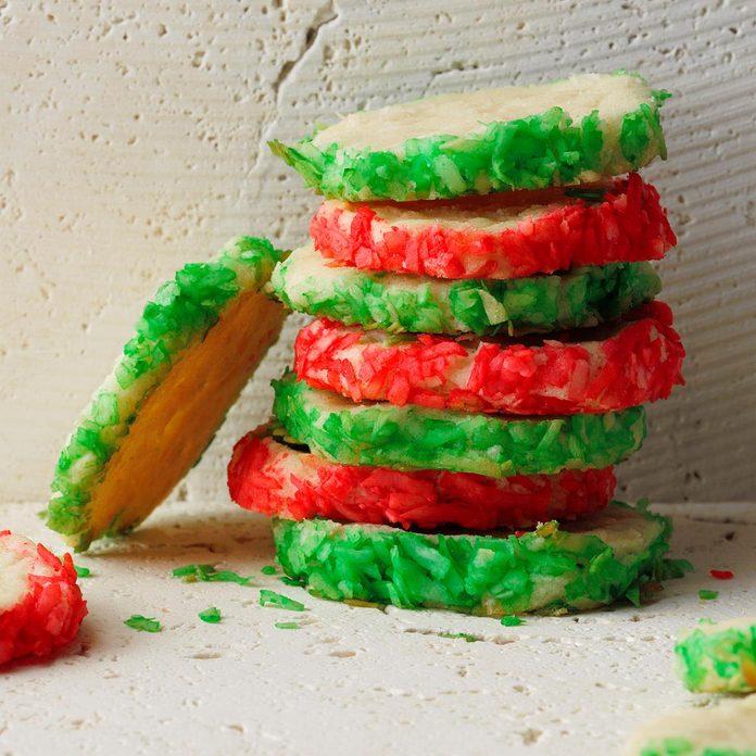 Coconut Slice & Bake Cookies