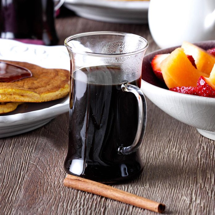 Coffee with Cinnamon and Cloves
