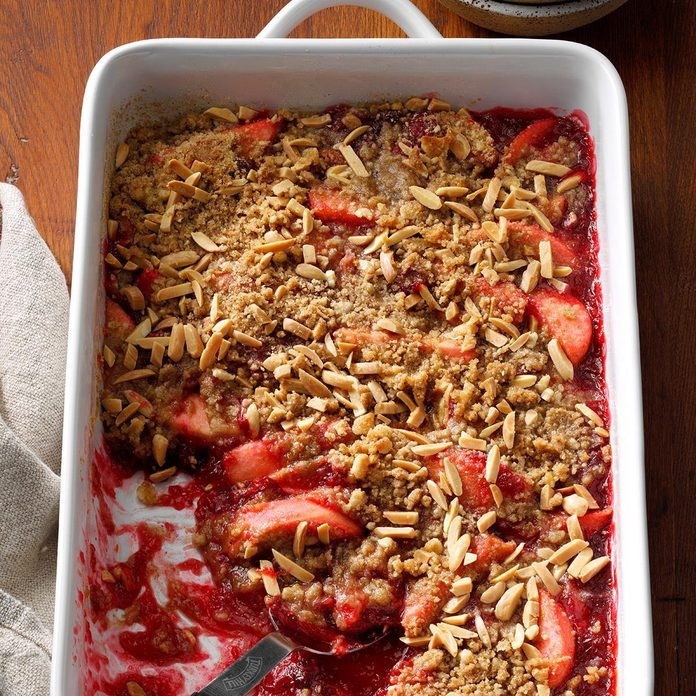 Cran-Apple Crumble