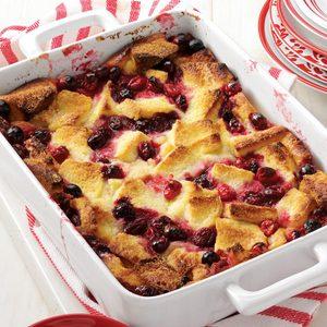 Cranberry Bread Pudding