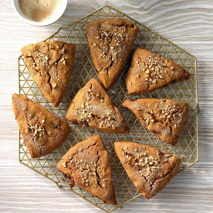 Cranberry Gingerbread Scones
