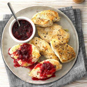 Cranberry Maple Chicken