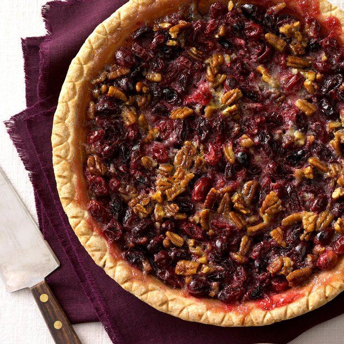 Cranberry Pecan Pie