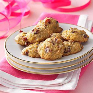 Cranberry Persimmon Cookies