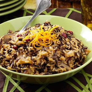 Cranberry Rice with Caramelized Onions