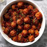 Cranberry Sauerkraut  Meatballs