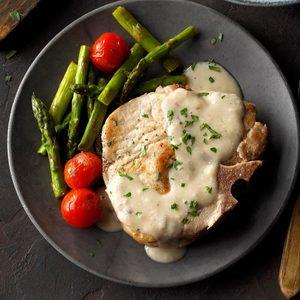 Creamy Onion Pork Chops
