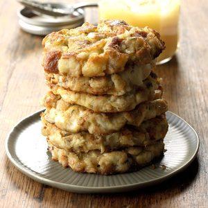 Crispy Mashed Potato & Stuffing Patties