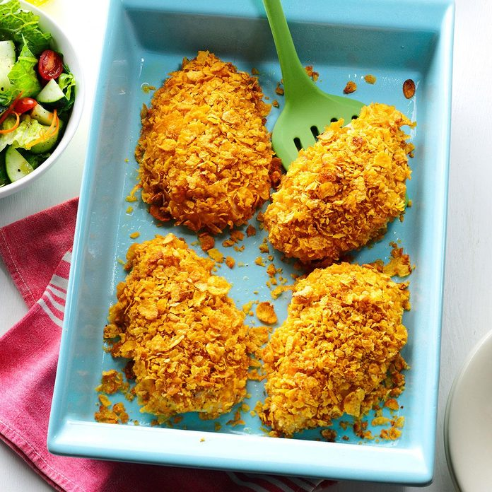 Crumb-Coated Ranch Chicken