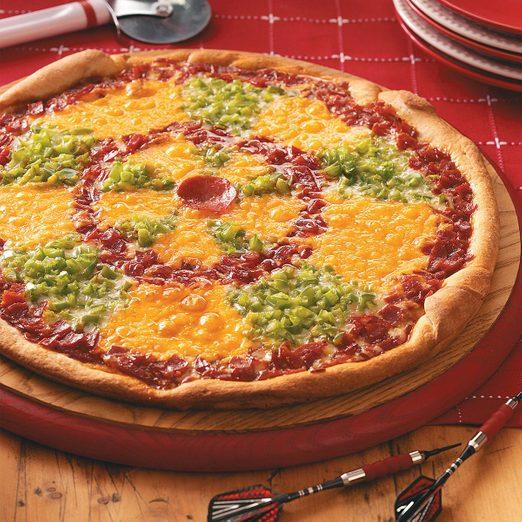 Dartboard Pizza