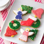 Decorated Sugar Cookie Cutouts