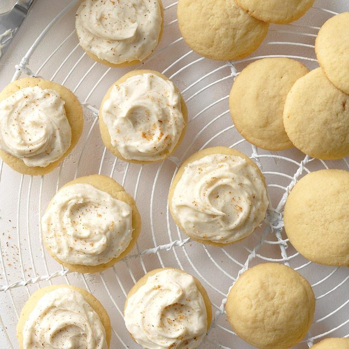 Double Whammy Eggnog Cookies