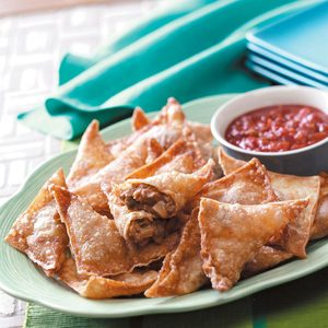 Southwestern Appetizer Triangles