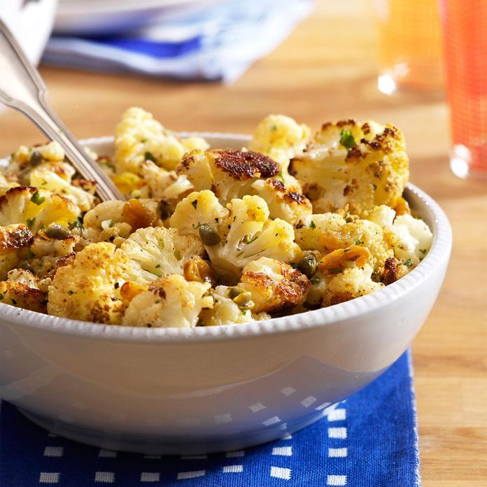 Browned Butter Roasted Cauliflower