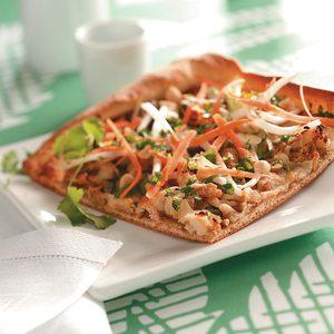 Pad Thai Pizza