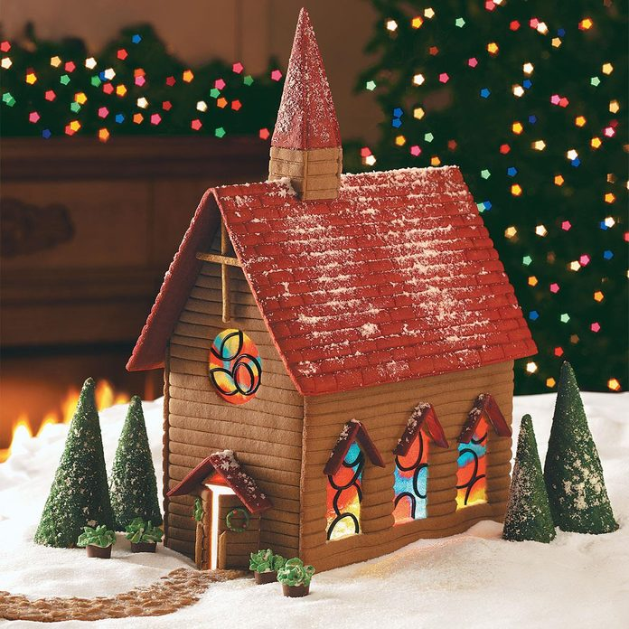 Gingerbread Country Church