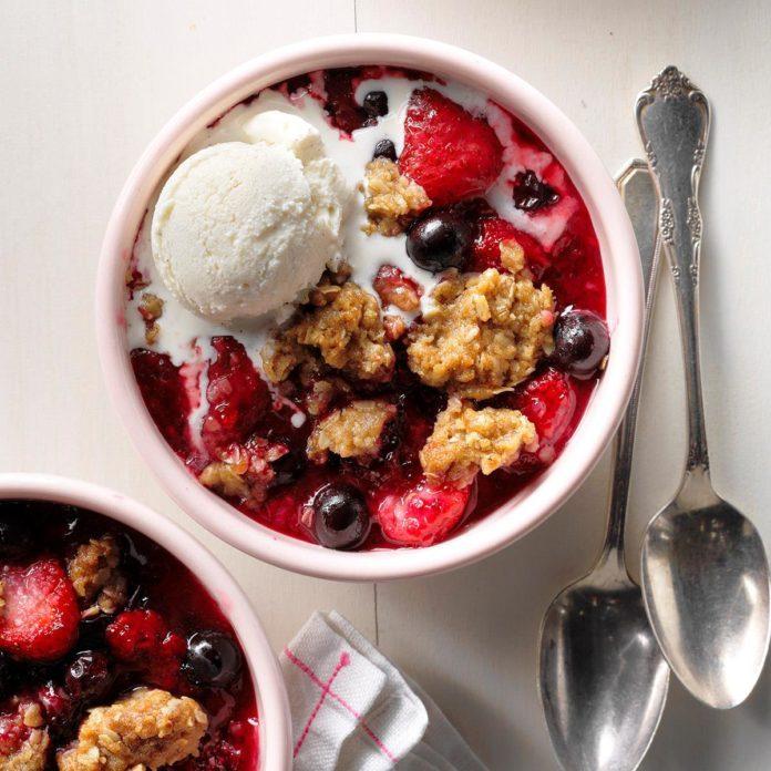 Jumbleberry Crumble