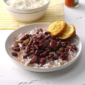 Lora's Pressure-Cooker Red Beans & Rice