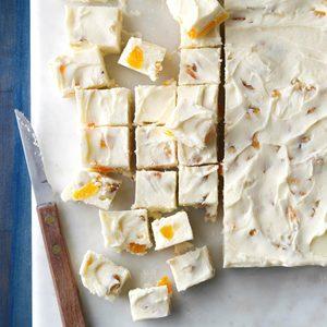 Apricot-Nut White Fudge