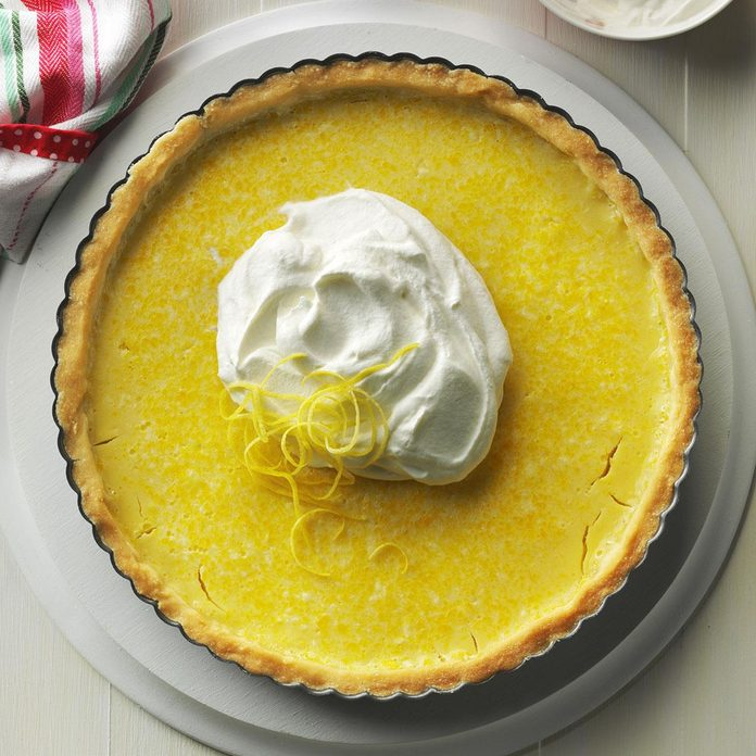 Inspired by the Citrus Tart Technical Challenge