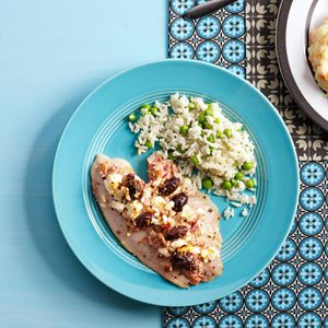 Easy Rice and Peas