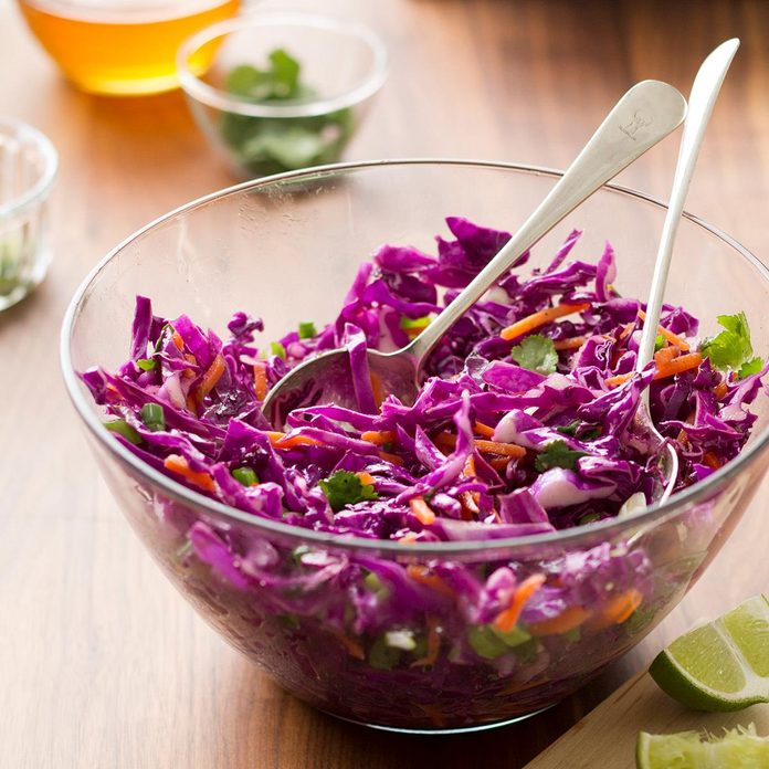 Emily's Honey Lime Coleslaw