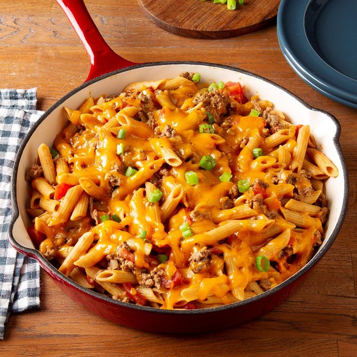 Family-Favorite Cheeseburger Pasta