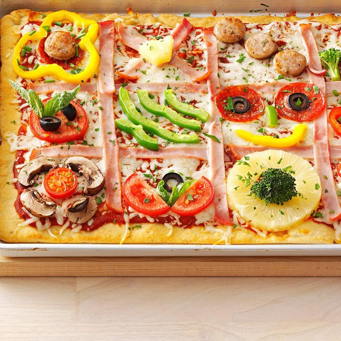 Family Quilt Pizza