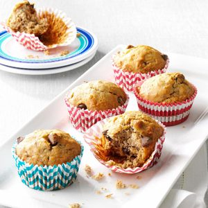 Favorite Banana Chip Muffins