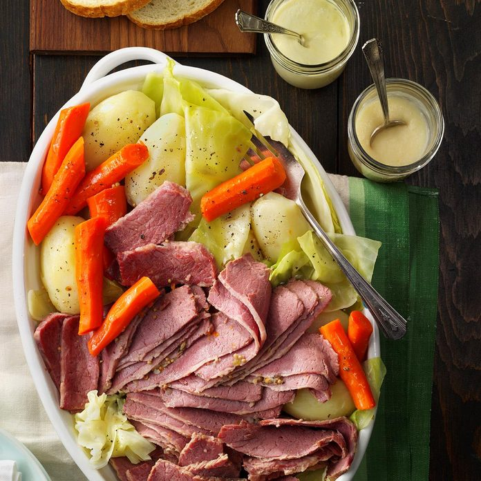 Favorite Corned Beef and Cabbage