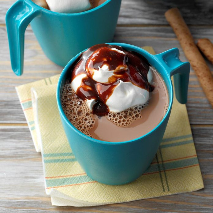 Inspired by: Hot Chocolate
