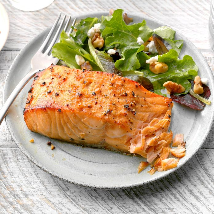 August 11: Flavorful Salmon Fillets