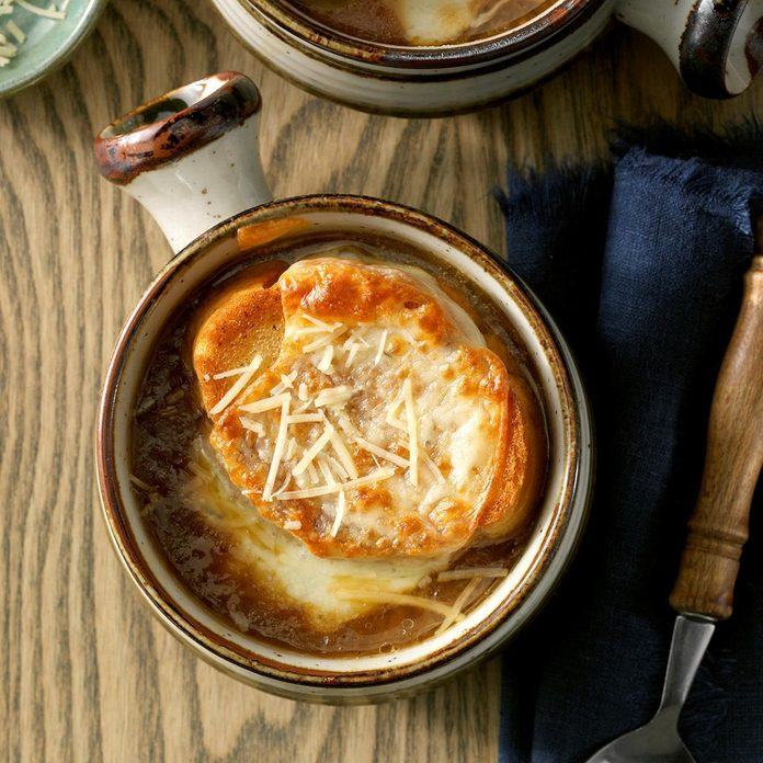 French Onion Soup with Provolone